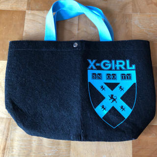 X-girl - XーGIRL エックスガールの雑誌付録のバッグ