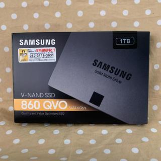 SAMSUNG - 新品未開封 Samsung 860 QVO MZ-76Q1T0B 1TB SSD
