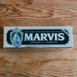 マービス(MARVIS)のMARVIS歯磨き粉ブラック(歯磨き粉)