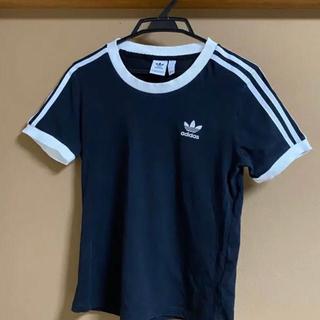 adidas - adidas 黒 Tシャツ Mサイズ