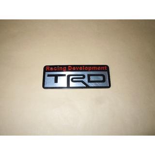 【TRD】Racing・トヨタ◆メタル エンブレム ステッカー◆新品