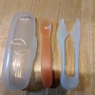 コンビ(combi)のコンビ 麺カッターセット(スプーン/フォーク)