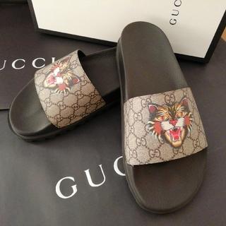 Gucci - 正規店購入 グッチ GG  サンダル/PVC ラバー★新品、箱付き