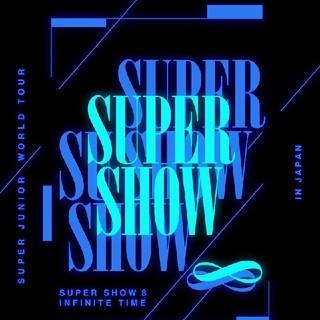 SUPER JUNIOR - SUPER SHOW 8 in JAPAN  DVD 3枚組