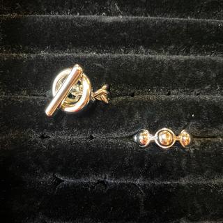 スピンズ(SPINNS)のストリート系シルバーカラーリングセット(リング(指輪))