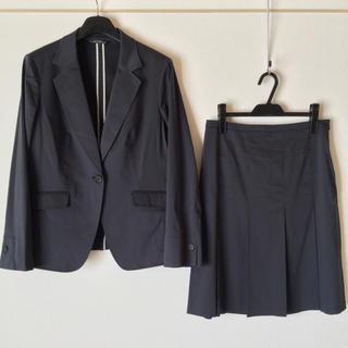 23区 - 23区 スカートスーツ 48/44 大きいサイズ 入学式 春夏 OL 美品 藍色