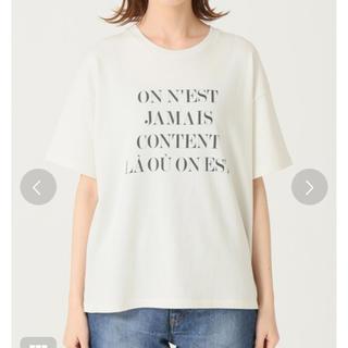 IENA - ロゴTシャツ