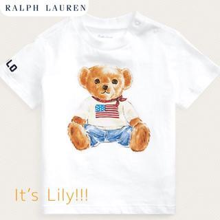 Ralph Lauren - 24m90cm ラルフローレン ベビー ベアプリント tシャツ