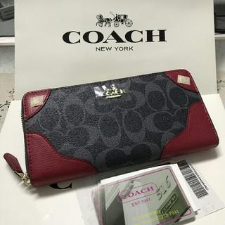 COACH - 新品未使用 coach コーチ 長財布F53780