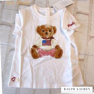 Ralph Lauren - 24m90cm ラルフローレン ベアプリント tシャツ 女の子