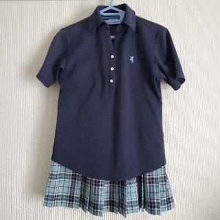 制服 コスプレ 夏スカート ポロシャツ 半袖ブラウス ソックス