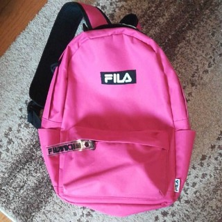 FILA - FILA ピンク ハニーズ リュック 大学 学生にも 普段 レディース