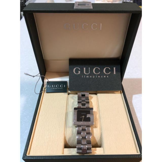 Gucci - GUCCI  時計 Gマーク  3600M ブラック文字盤 の通販