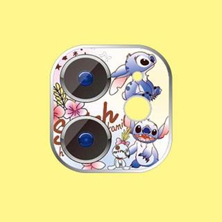 ディズニー(Disney)のスティッチ  iphone11 レンズ保護フィルム(保護フィルム)