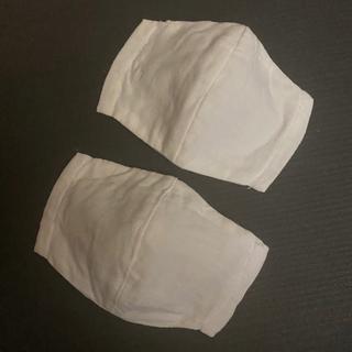 2枚 インナーマスク ガーゼ フィルター ポケット 大人 ハンドメイド 立体(その他)