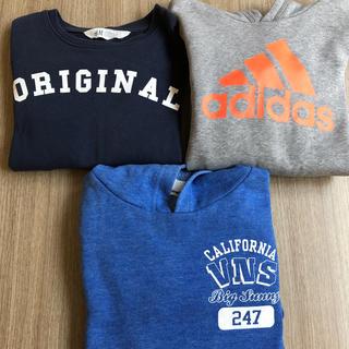 アディダス(adidas)の男の子パーカー、トレーナー130(Tシャツ/カットソー)