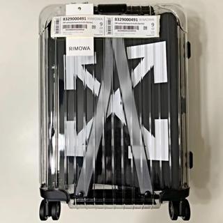 RIMOWA - OFF WHITE × RIMOWA スーツケース