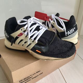 OFF-WHITE - the 10 nike x off-white air presto 初期28㎝