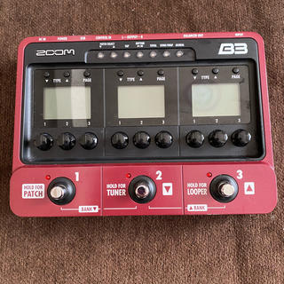 ズーム(Zoom)のzoom b3 箱なし(ベースエフェクター)