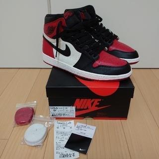 NIKE - Nike Air Jordan 1 Bred toe