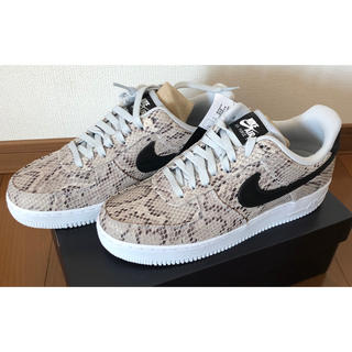 NIKE - NIKE AIR FORCE 1 SNAKESKIN 26.0㎝ 新品未使用