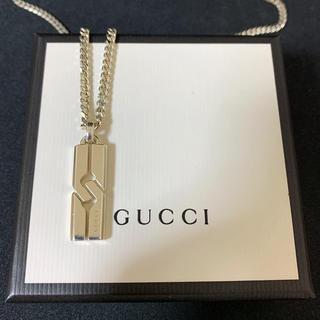 Gucci - Gucci グッチ ノット インフィニティ シルバー ネックレス