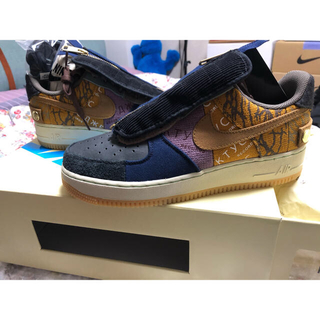 NIKE - AIR FORCE 1 LOW CACTUS JACK TRAVIS SCOTT