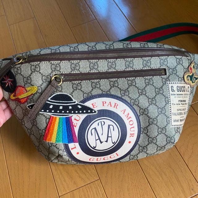 LOUIS VUITTON偽物 時計 、 Gucci - GUCCI クーリエGGスプリームベルトバック(美品)の通販