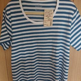 ムジルシリョウヒン(MUJI (無印良品))の無印 ボーダー Tシャツ 半袖(Tシャツ(半袖/袖なし))