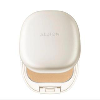 ALBION - アルビオン ホワイトパウダレスト060ケース、パフ付き❣️