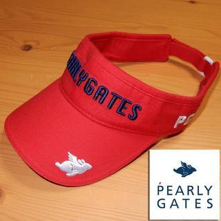 PEARLY GATES - パーリーゲイツ PEARLEY GATES サンバイザー