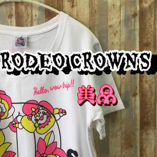 RODEO CROWNS - ロデオクラウンズ    レディース  ロンT