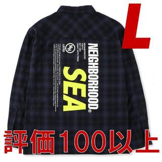 NEIGHBORHOOD - NEIGHBORHOOD × WINDANDSEA C-SHIRT シャツ