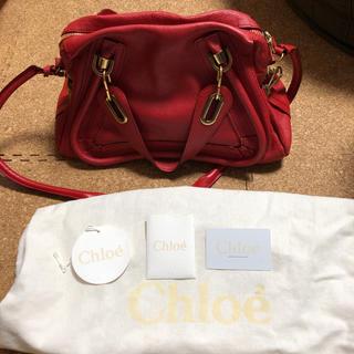 Chloe - クロエ パラティ 赤