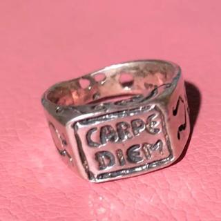 カルペ・ディエム carpe シルバー時計 時計リング シルバー925リング(リング(指輪))
