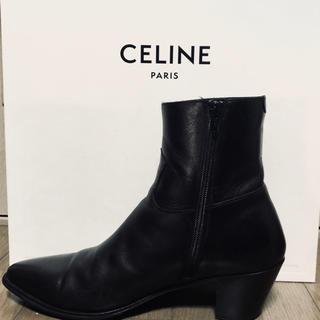 celine - CELINE ジャクノ サイドジップブーツ
