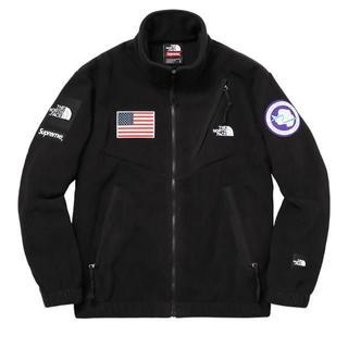 Supreme - L 黒 Supreme TNF Fleece Jacket