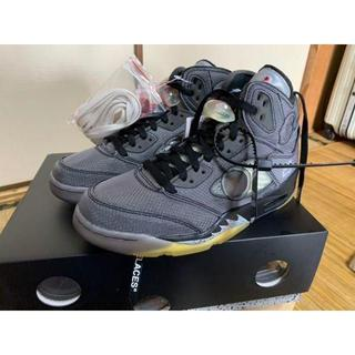 NIKE - OFF-WHITE × NIKE AIR JORDAN5 26.5cm