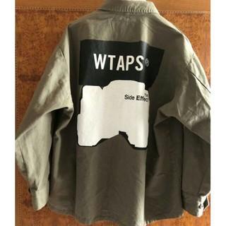 W)taps - WTAPS JUNGLE LS/SHIRT.COTTON.CANVAS 19aw