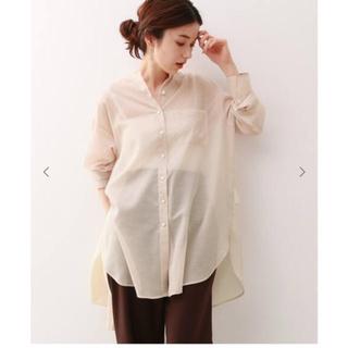 フレームワーク(FRAMeWORK)の シアーボイルシャツ(シャツ/ブラウス(長袖/七分))