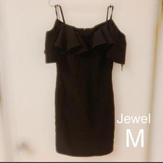 ジュエルズ(JEWELS)のJewel キャバドレス  M ブラック(ナイトドレス)