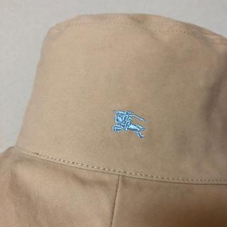 BURBERRY BLUE LABEL - バーバリーブルーレーベル リバーシブル ハット