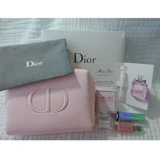 Christian Dior - 新品 ディオール 香水 ノベルティ ポーチ マキシマイザー ブルーミングブーケ