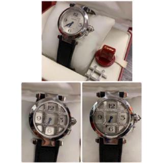 Cartier - 極美¥198万品 カルティエ WG パシャ ダイヤモンドグリッド 箱/保証書