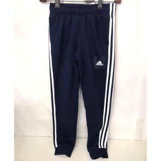 adidas - adidas アディダス 男の子 ボーイズ スウェットパンツ 140 ネイビー