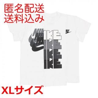 NIKE - NIKE x sacai wmns tee White XL