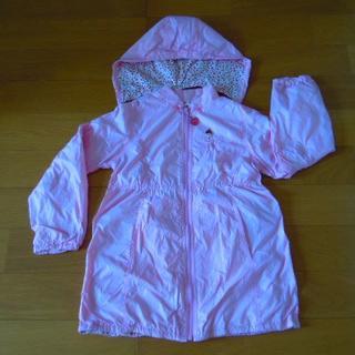 ミキハウス(mikihouse)のmikihouse 女の子用  ジャケット フード付 ピンク サイズ140(ジャケット/上着)