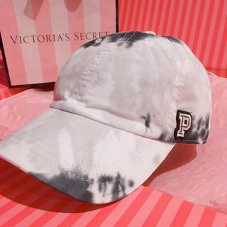 Victoria's Secret - PINK♡ベースボールキャップ♡グレータイダイ