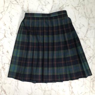 EASTBOY - グリーン チェック 夏 制服 スカート