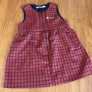 familiar - ファミリア ジャンパースカート サイズ90
